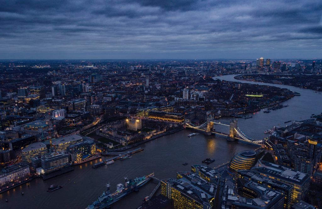View from the Shard by Henry Be