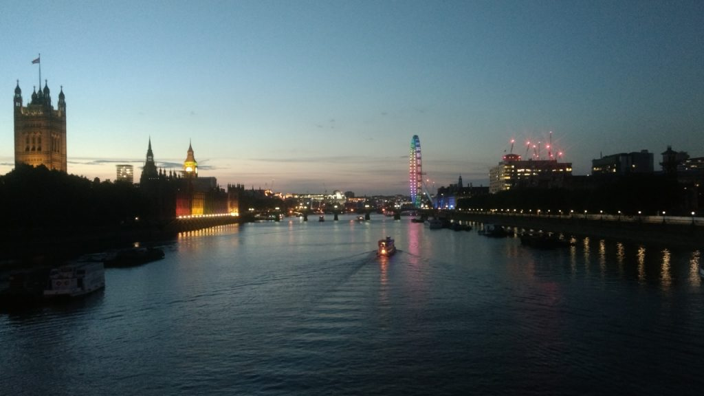 Parliament and the Thames by Phil MacDonald