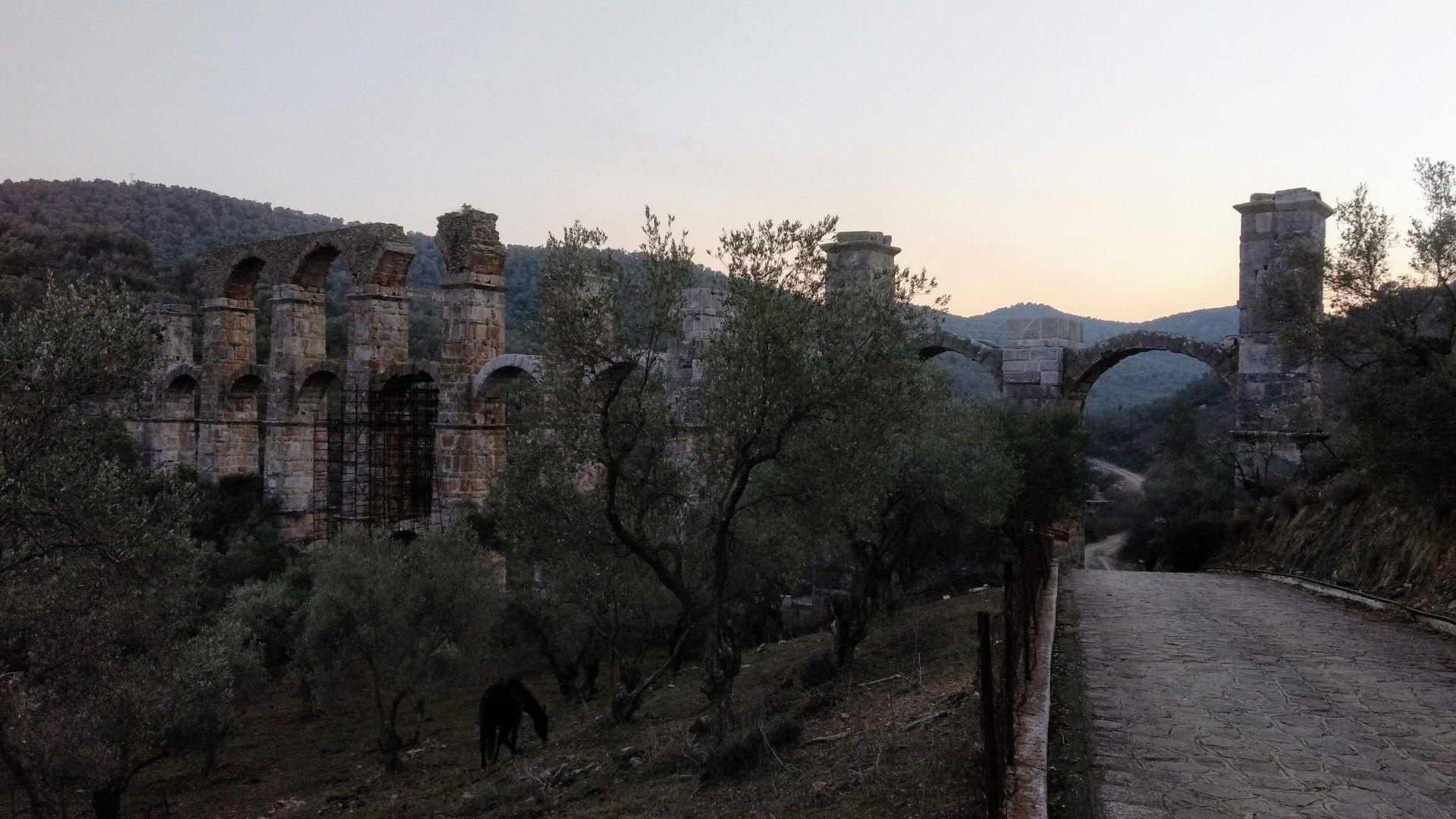 Phil MacDonald Lesvos aqueduct